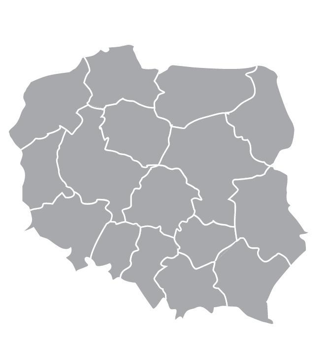 Kaart Tsjechië