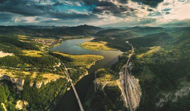Vignet weg Bulgarije
